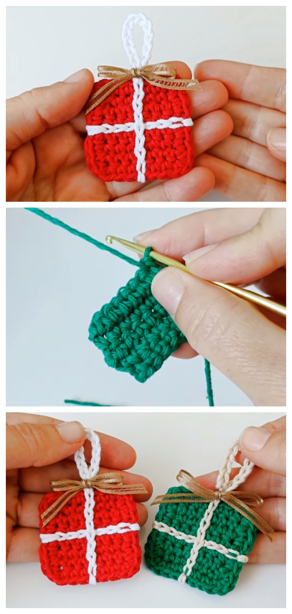 Crochet Boxes For Christmas