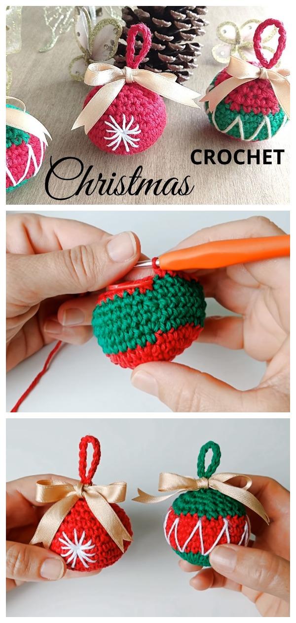 Crochet Easy Christmas Bells