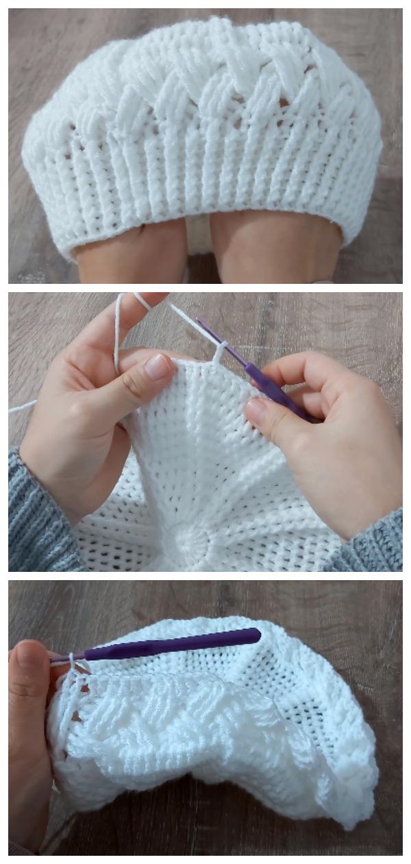 Crochet Woman's Beret Hat