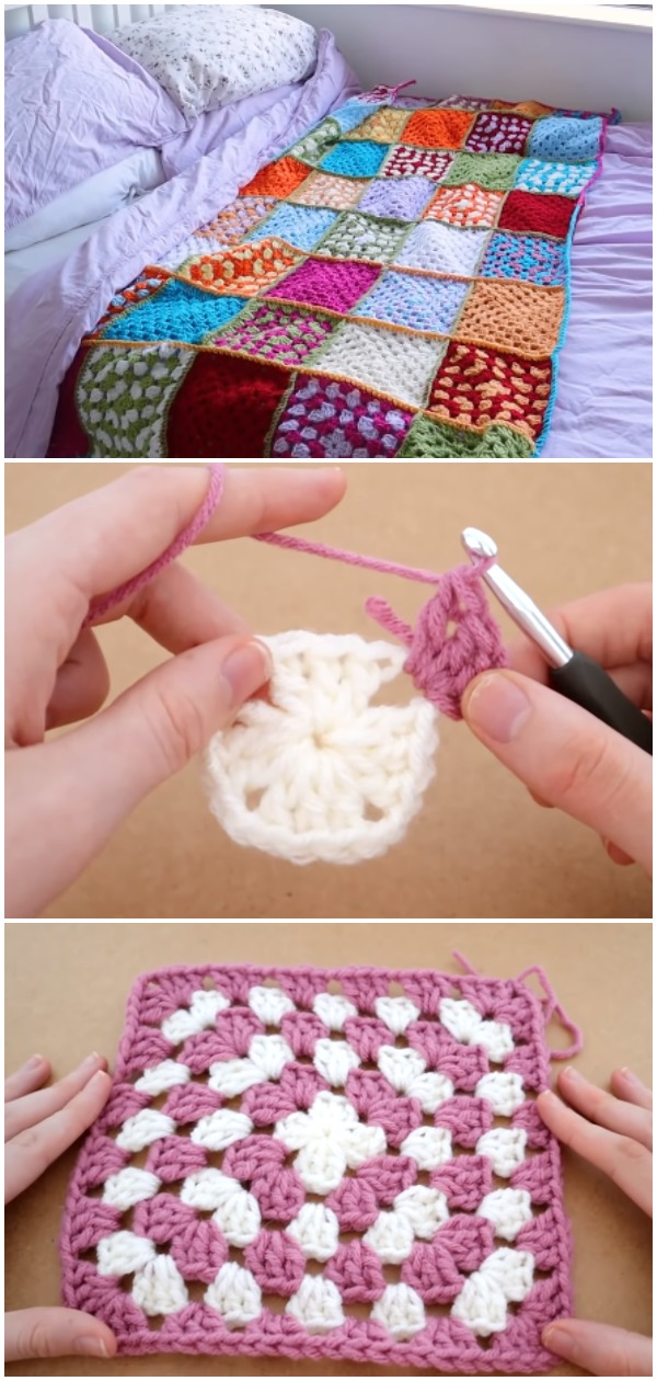 Crochet Easy Amazing Blanket