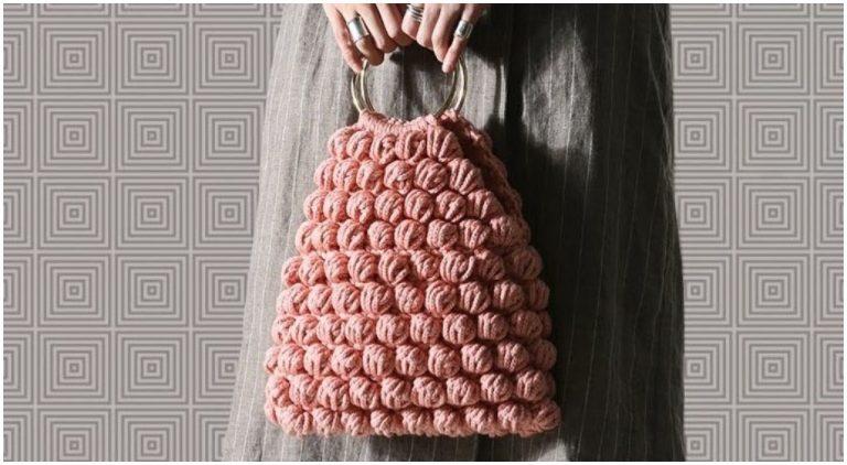 Amazing Tote Bag Puff Stitch